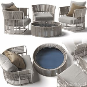 Tibidabo Coffee Table Tibidabo Armchair