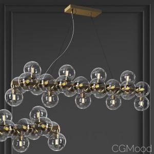 Maytoni Linear Pendant Lamp Dallas
