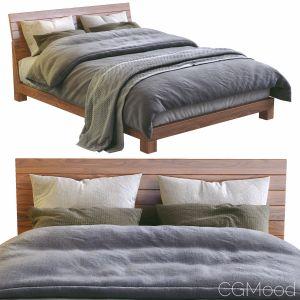 Dondra Teak Queen Bed