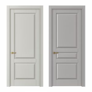 Classic interior doors Set 124