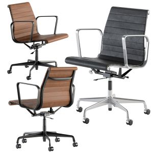 Office Chair Short Leather