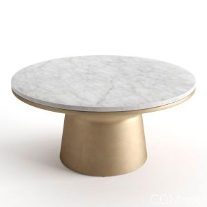 West Elm Pedestal Coffee Table