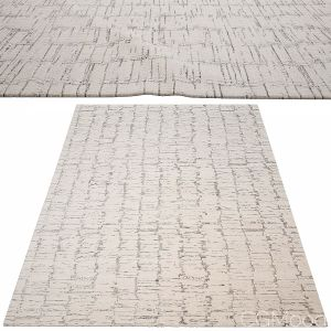 Oscillo Hand-knotted Rug