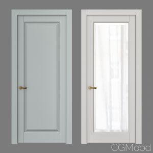 Classic interior doors Set 126