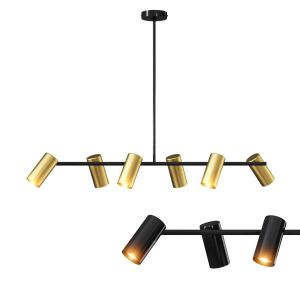 Obie Diner 6 Light Pendant By Made