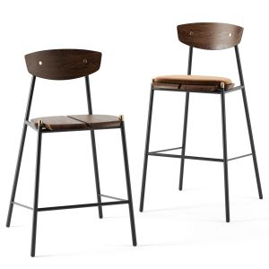 Kink Bar Stools By District Eight