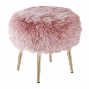 Round Chair Fur 2