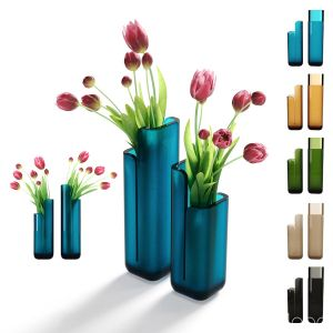 Crystalmood Vase Masa By Antonio Lupi Design