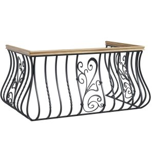 Metal Forged Balcony Railing