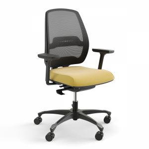 Swivel Chair Momo Mo-102 Black