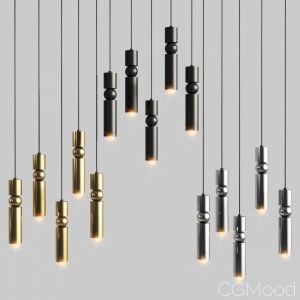 Lee Broom Fulcrum 5 Chandelier