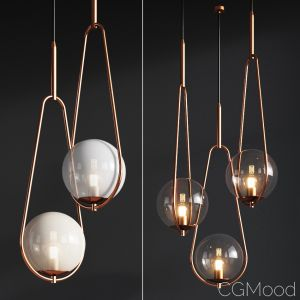 Pendant Lamp Loop Brass