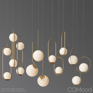 Ceiling Light Collection 3 - 4 Type