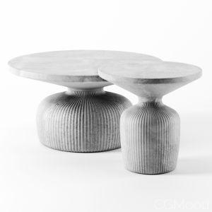 Tambor Concrete Tables By Westelm