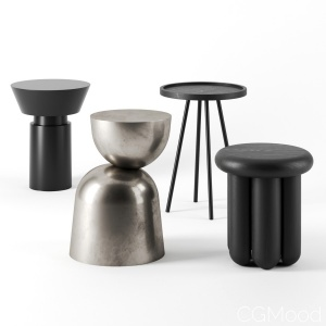 Side Tables Set By House Doctor
