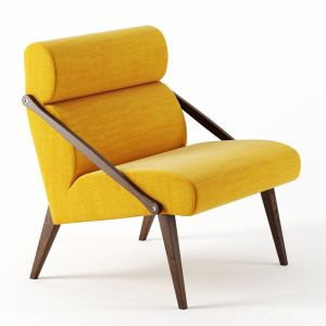Attesa Lounge Chair By Labbate Italia
