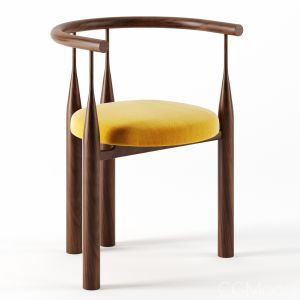 Bellbottom Chair By Steven Bukowski