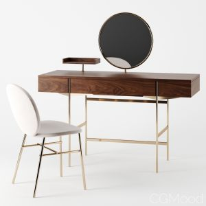 Lonja Dressing Table & Kelly C Chair