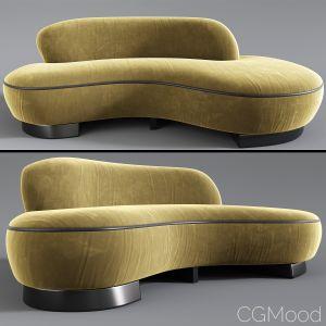 Valadamir Curve Sofa