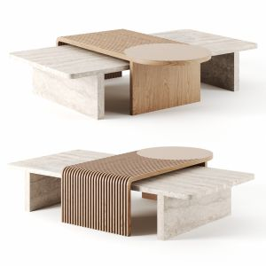 Stick & Stone Table By Dooq