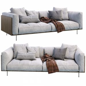 Living Divani Sofa Rodwood