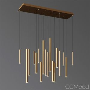 Eurofase Lighting 18 Led Linear Chandelier