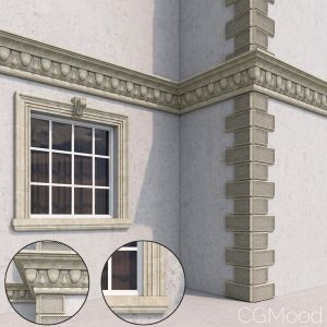 Facade Elements Classic Style 1