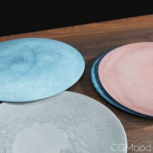 Ceramic Plates Set