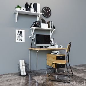 """Work Table Set """"bauhaus"""""""