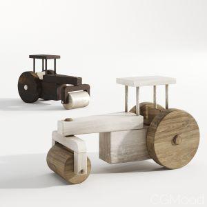 Wooden Buldozers
