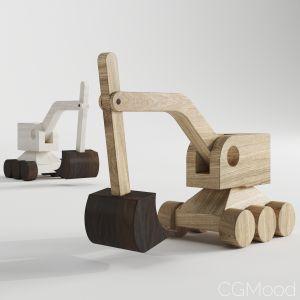 Wooden Excavators