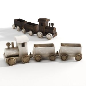 Wooden Locomotivs