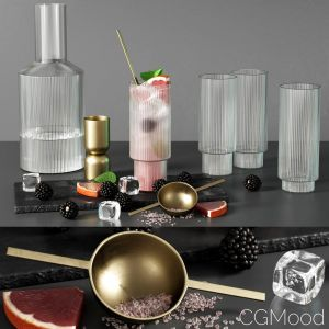 Kitchen Decor Set 07