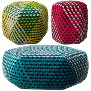 Tramae Pouf By B&b Italia