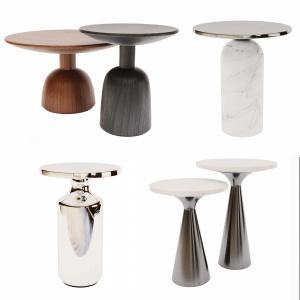 Side Tables . Set 01 - 3d-model