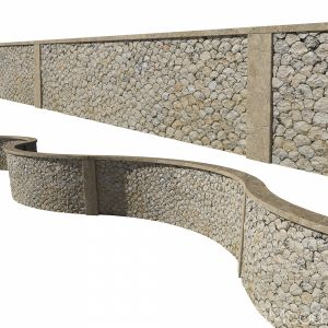 Ultra Realistic Stone Fence