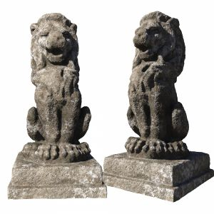The Statue Of The Lion Scan