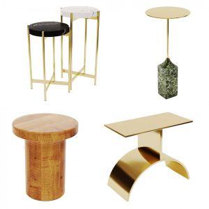 Side Tables . Set 02 - 3d-model