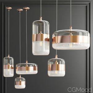 Copper Futura Vistosi Pendant