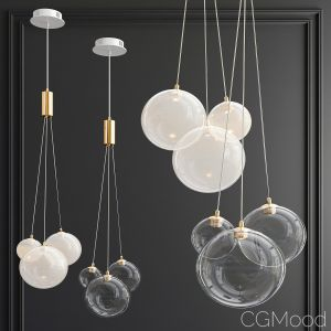Jodis 3-bubble Pendant
