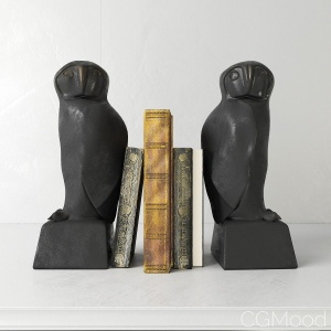 Bookend Owl set - Eichholtz