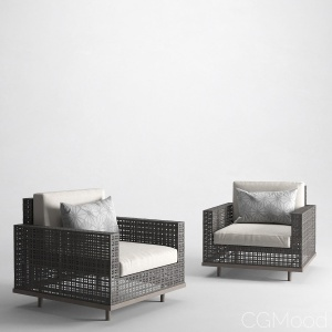 JANUS et Cie - BOXWOOD LOUNGE CHAIR