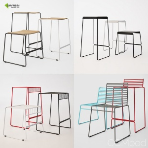 Cintesi Wire Barstool Collection
