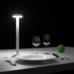 TETATET by Davide Groppi (dining set included)