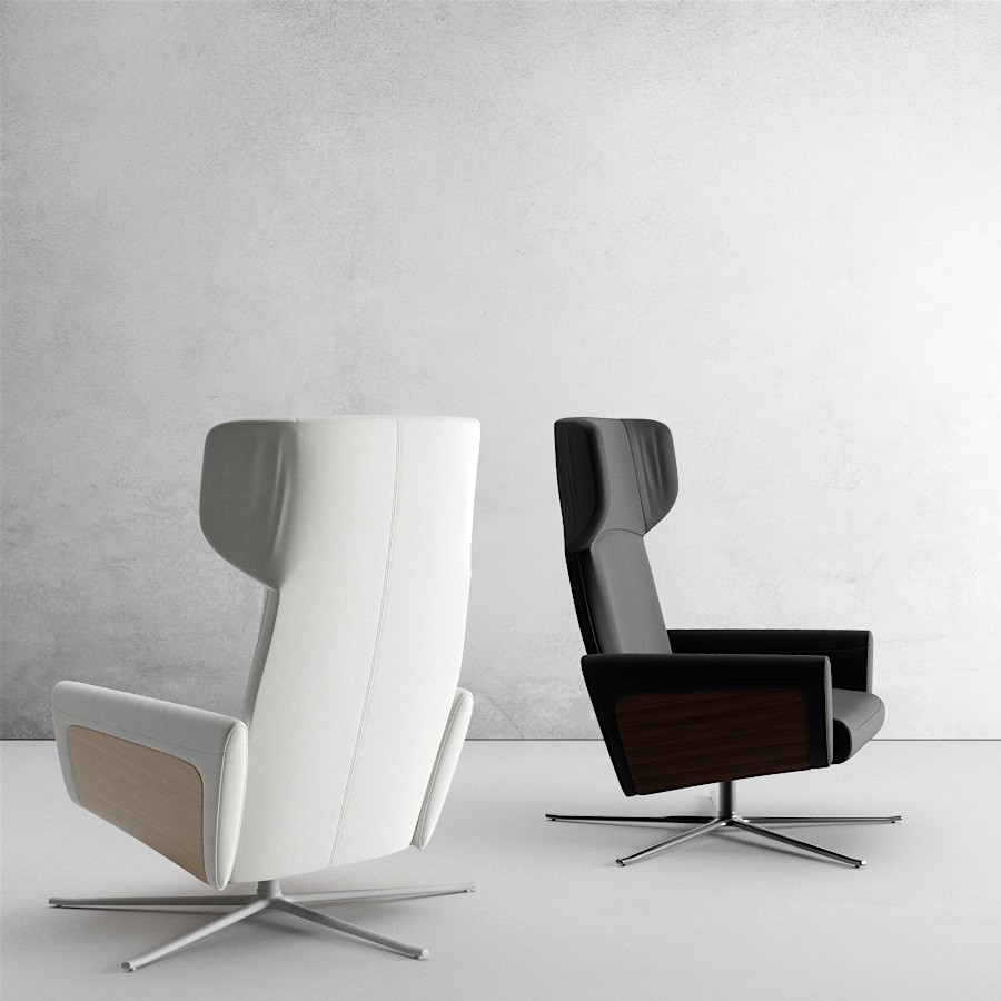 Lucca Armchair By Boconcept 3d Model For Vray Fstorm