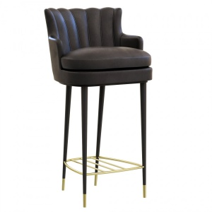 Brabbu Plum Bar Chair