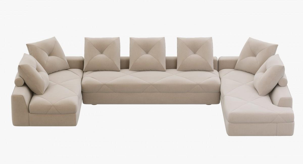 Roche Bobois Preface Modular Sofa 3d, Roche Bois Furniture