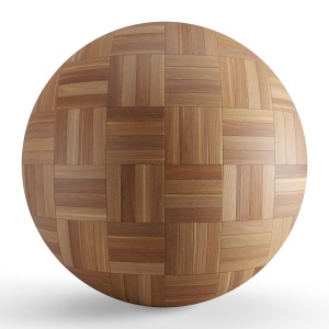 Brown Wood Seamless Basket Parquet Material V1