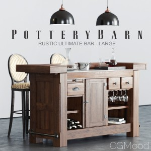 Pottery Barn Rustic Ultimate Bar
