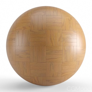 Brown Wood Seamless Basket Parquet Material V2
